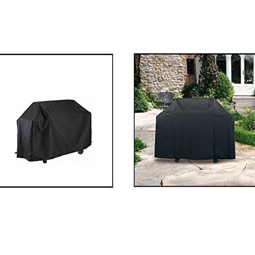 Waterproof BBQ Cover Garden Patio Rainproof Dustproof Sunscreen Gas Barbecue Grill Protector 170 * 61 * 117cm/145 * 61 * 117cm