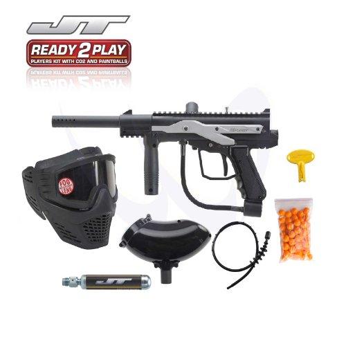 Jt E-Kast Electronic Ready To Play Paintball Gun Kit
