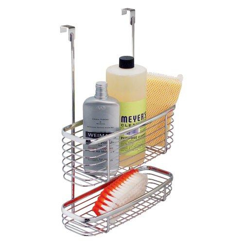 3 Tier Shelf Organizer Under Sink Rack Cabinet Storage: Under Sink Cabinet 3 Tier Basket Organizer Drawer Storage
