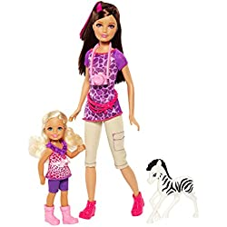 Barbie Sisters Safari Fun Skipper and Chelsea Doll 2-Pack