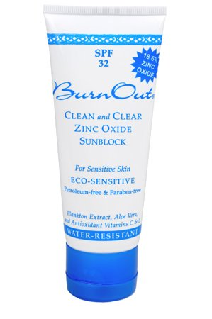 BurnOut Eco-Sensitive Zinc Oxide Sunscreen SPF 32
