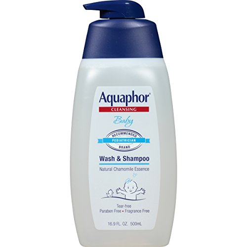 Aquaphor Baby Wash & Shampoo 16.9 Fluid Ounce