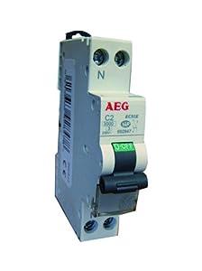AEG AUN692852 Disjoncteur Phase + Neutre 20 A