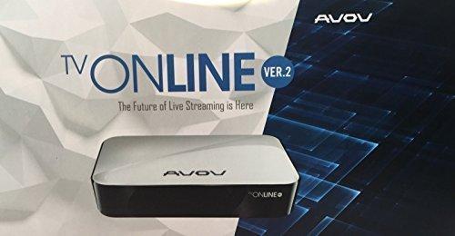 AVOV TV ONLINE v2 QUAD-CORE ANDROID H 265,Kodi ,Best IPTV Box