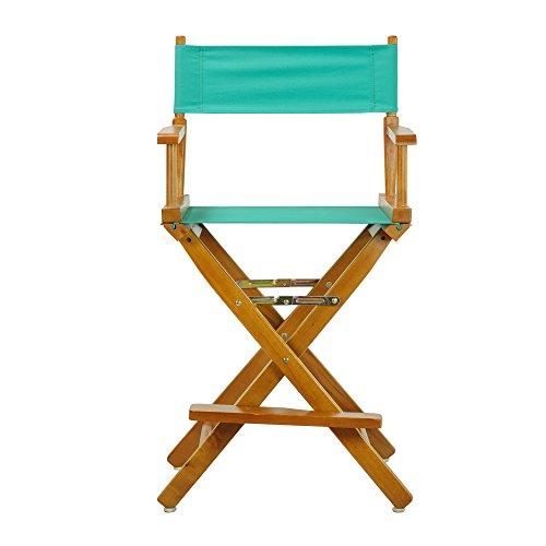 Casual Home Honey Oak Frame Canvas Director Chair, 24