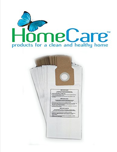 Kenmore U, L, O & 5068 Synthetic Micro Filtration Bags by Home Care Products, 10 bags - 50688, 50690, 50105 (Kenmore Upright Type U compare prices)
