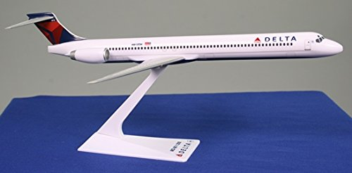 Flight Miniatures Delta MD-90 Airplane Miniature Model Plastic Snap Fit 1:200 (Delta Airlines Model compare prices)