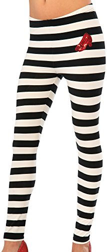 Rubie's Costume Co Women's Wizard Of Oz Adult Wicked Witch Of The East Leggings