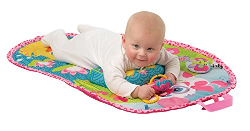 Playgro Pink Puppy Tummy Time Mat Toy - 1