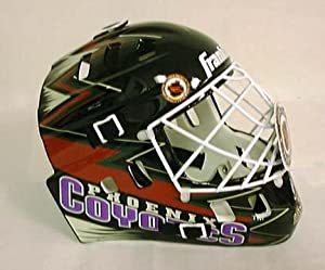 Phoenix Coyotes Franklin NHL Full Size Goalie Mask by Franklin