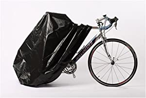 Zerust 84 in x 59 in Bicycle Cover with Zipper Closure