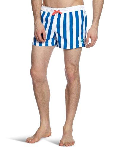 Bjorn Borg Block Stripe Shorts Men's Swim Shorts Skydiver Large