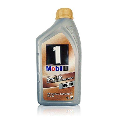 Mobil 1 New Life 0W-40 3x1L D/AT 3x1 Liter Motoröl