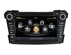 See SDB Car DVD Player With GPS Navigation(free Map) For Hyundai i40 Audio Video Stereo System with Bluetooth Hands Free, USB/SD, AUX Input, Radio(AM/FM), TV, Plug & Play Installation Details