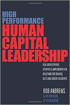 High Performance Human Capital Leadership
