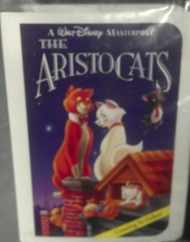1995 Disney Masterpiece Collection Aristocats Happy Meal Toy ~ Scat Cat