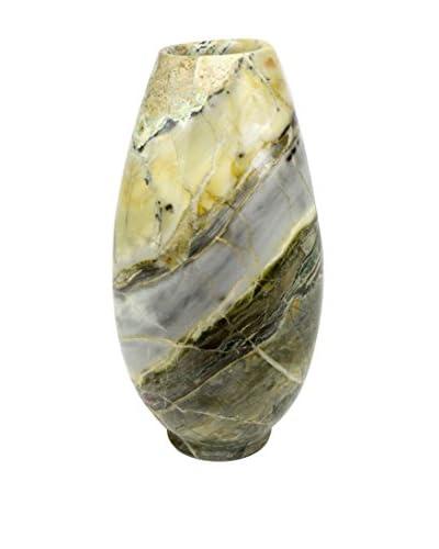Uptown Down Marble Vase, Brown