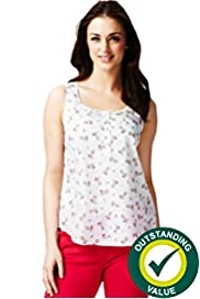 Pure Cotton Pina Colada Vest Top