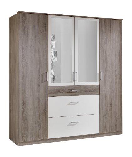 schrank 2 t rig eiche preis vergleich 2016. Black Bedroom Furniture Sets. Home Design Ideas