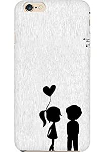 AMEZ designer printed 3d premium high quality back case cover for Apple iPhone 6 (love couples)