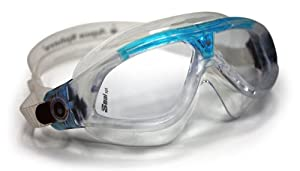 Aqua Sphere Seal XP Lady Swim Goggles(Clear Lens, Trans/Aqua)