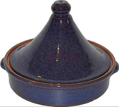 Amazing Cookware 20 Cm Reactive Terracotta Tagine Blue from Amazing Cookware
