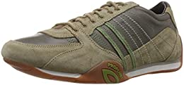 Woodland Mens Leather Sneakers B00SY06KDO