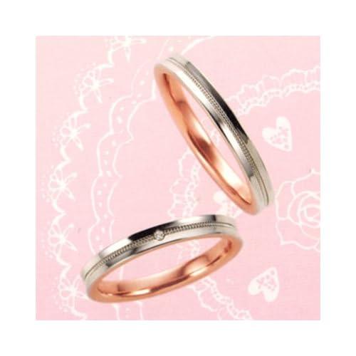 結婚指輪 マリッジリング プラチナ 2本セット ペアリング カップル ダイヤモンド リング 指輪 地金リング レディース リング プラチナ リング プラチナ Pt ピンクゴールド PG