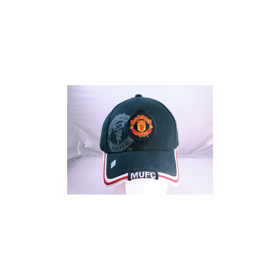 FC MANCHESTER UNITED OFFICIAL TEAM LOGO CAP / HAT   MU027