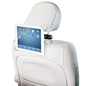 "LilGadgets CarBuddy Universal Headrest Tablet Mount (For 7""-11"" devices such as iPad, Galaxy, Note, Fire, Nook, and Surface tablets) from LilGadgets"