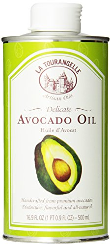 La Tourangelle Avocado Oil - Cooking & Body Care - All-Natural, Expeller-pressed, Non-GMO, Kosher - 16.9 Fl. Oz.