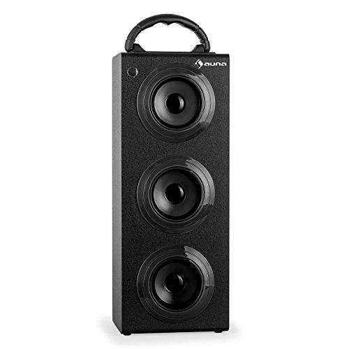 auna-Beachboy-XXL-tragbarer-Bluetooth-Lautsprecher-mobile-Akku-Lautsprecherbox-USB-SD-Slot-AUX-UKW-Radio-Tragegriff-Fernbedienung-schwarz