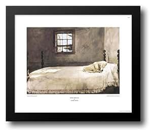 Master Bedroom 23x20 Framed Art Print By Wyeth Andrew Artwork Posters