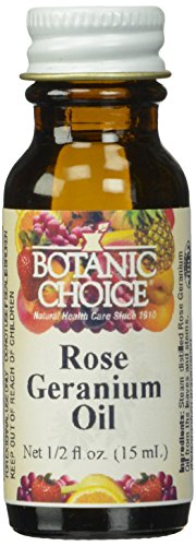 Botanic Choice Oil, Rose Geranium, 0.5 Ounce
