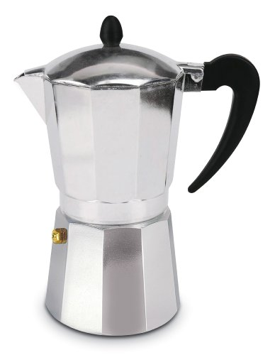 Cuisinox COF-W6 6-Cup Espresso Stovetop Coffeemaker
