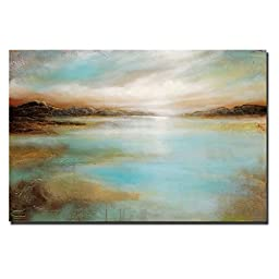 Distant Shores by Linzy Arnott Premium Gallery-Wrapped Canvas Giclee Art (Ready-to-Hang)