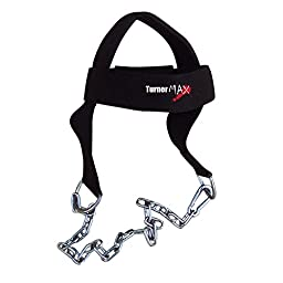 TurnerMAX Cotton Head Harness Neck Weight Deluxe Training belts with Chain