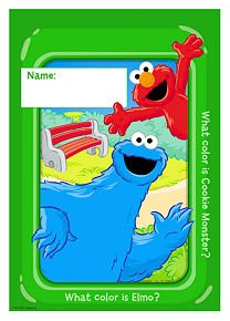 Sesame Street Loot Bags 8ct - 1