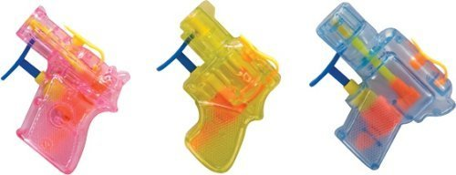 3 Pack Schylling Mini Squirt Guns Assorted Colors - 1