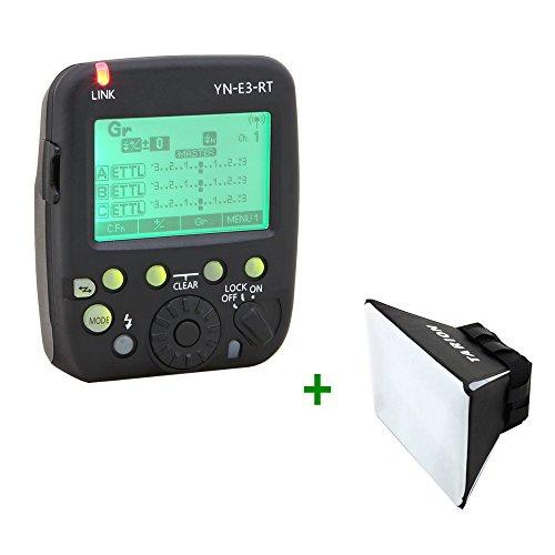 Yongnuo YN-E3-RT kabellose Funkauslöser für Canon 100D 300D 350D 400D 450D 500D 550D 600D 650D 700D 1000D 1100D 10D 20D 30D 40D 50D 60D 70D 1D 1D2 1D3 1D4 1Ds 1Ds2 1Ds3 1DX 1DC 5D 5D2 5D3 6D 7D