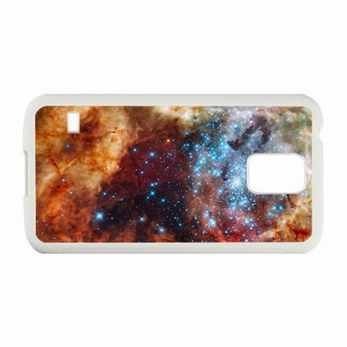 Samsung Galaxy S5 SV Cases Customized Gifts Photography Space White Hard PC Case