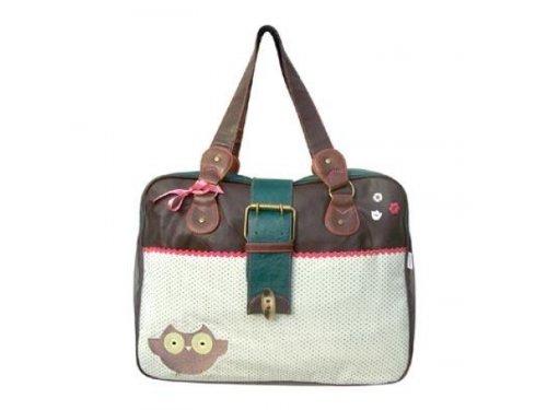 It's darling owl overnight bag