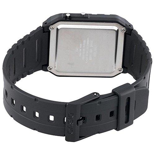 Casio Calculator Watch Water Resistant Dual Time Daily Alarm CA53W-1Z 1