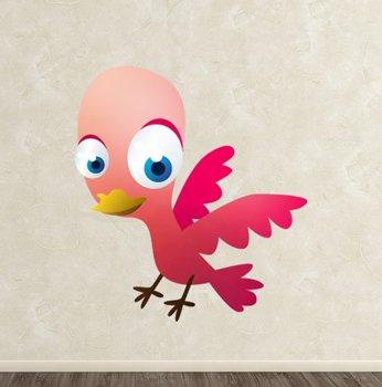 Imagen 1 de Tenvinilo - Vinilo Pájaro - Color : Rosa - Talla : 30 x 27