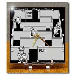 Cheap Londons Times Offbeat Cartoons – Mice – The End Is Near – Desk Clocks (B007RJKS2W)