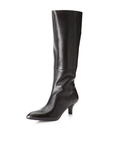 Rockport Women's Lilah Zip Boot  - Black Smooth Calf
