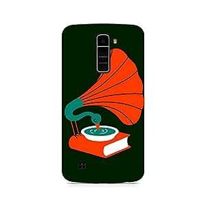 Ebby Music Peacock Premium Printed Case For LG K10