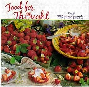 750 Piece Puzzle - Food for Thought [24'' x 18''] - 1