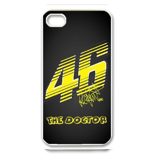 iPhone 4,4S Phone Case Valentino Rossi VR46 Moto GP Logo 46 WE736428