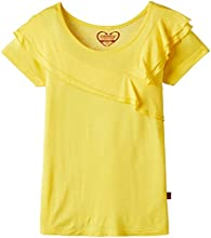 Cherokee Girls T-Shirt (253156636_Yellow_11 Years)